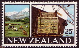 New Zealand 1967 SG 877 Dairy Farm Fine Mint