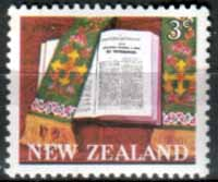 New Zealand 1968 SG 883 Maori Bible Fine Mint