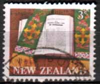 New Zealand 1968 SG 883 Maori Bible Fine Used
