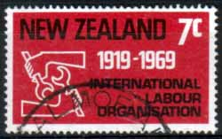 New Zealand 1969 SG 893 Labour Fine Used