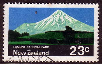 New Zealand 1970 SG 929 Eggmont National Park Fine Used