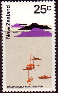New Zealand 1970 SG 930 Hauraki Gulf Marina Fine Mint