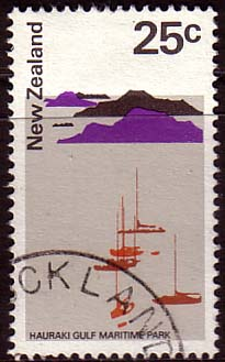 New Zealand 1970 SG 930 Hauraki Gulf Marina Fine Used