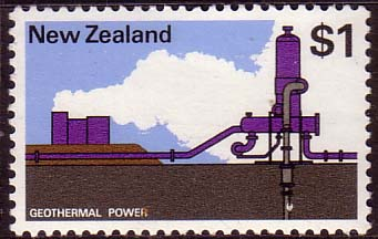 New Zealand 1970 SG 933 Geothermal Power Fine Mint