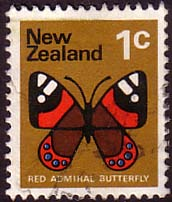 New Zealand 1973 SG1008 Butterfly Fine Used