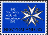 Stamps New Zealand 1985 Centenary of St John Ambulance Set Fine Mint