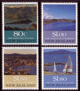 New Zealand 1990 European Settlement Set Fine Mint