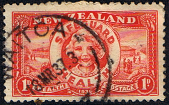 New Zealand Health 1936 Safeguard Fine Used
