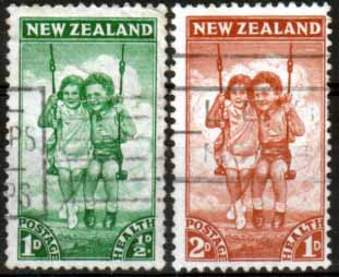 New Zealand Health 1942 Children Set Fine Used
