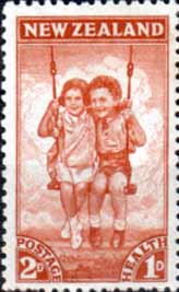 New Zealand Health 1942 Children SG 634 Fine Mint