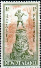New Zealand Health Stamps 1945 Peter Pan
