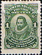 Newfoundland 1910 SG 106 King James I Fine Mint
