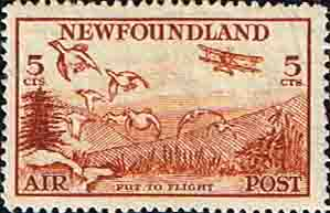 Postage Stamps Newfoundland 1933 SG Air Mail SG 230 Fine Mint Scott C13