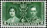 Newfoundland 1937 SG 254 King George VI Coronation Fine Mint