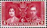 Newfoundland 1937 SG 255 King George VI Coronation Fine Mint