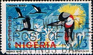 Nigeria 1969 SG 228 Crown Bird Fine Used