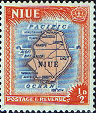 Niue Stamps 1950