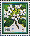 Niue 1969 Flowers SG 141 Fine Mint