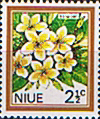 Niue 1969 Flowers SG 144 Fine Mint