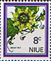 Niue 1969 Flowers SG 147 Fine Mint