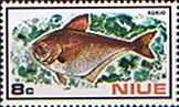 Niue 1973 Fish SG 175 Fine Mint