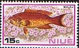 Niue 1973 Fish SG 177 Fine Mint