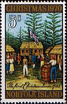 Norfolk Island 1970 Christmas Fine Mint SG 120 Scott 143 Stamps