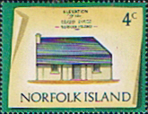 Norfolk Island 1973 Historic Buildings SG 136 Fine Mint