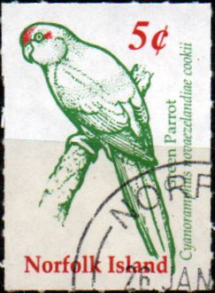 Stamps Norfolk Island 2002 Kingfisher Fine Mint SG 783 Scott 753