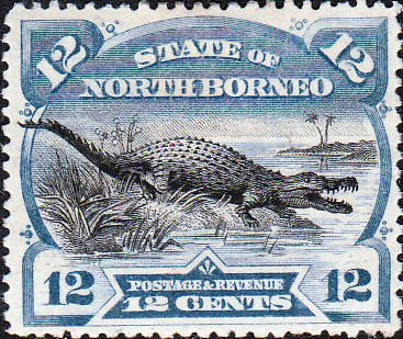 Stamp Stamps North Borneo 1894 State Issue Fine Used SG 75 Scott 65