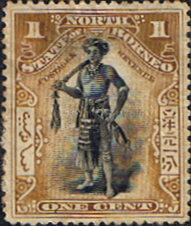 Stamp Stamps North Borneo 1897 State Issue Good Used SG 92a Scott 79