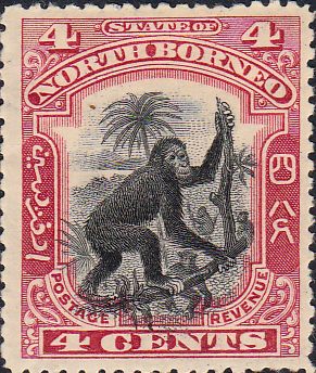Stamp Stamps North Borneo 1897 State Issue Fine Used SG 99 Scott 104