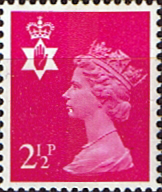 Stamps Northern Ireland 1971 Queen Elizabeth Machin SG NI 12 Scott NIMH 1 Fine Mint