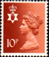 Northern Ireland 1971 Queen Elizabeth Machin SG NI 28 Scott NIMH 13 Fine Used Regional Postage Stamps