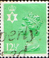 Northern Ireland 1971 Queen Elizabeth Machin SG NI 36 Scott NIMH 19 Fine Used Regional Postage Stamps