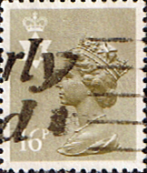 Northern Ireland 1971 Queen Elizabeth Machin SG NI 42 Scott NIMH 28 Fine Used  Regional Postage Stamps
