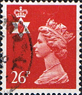 Northern Ireland 1971 Queen Elizabeth Machin SG NI 60 Scott NIMH 46 Fine Used Regional Postage Stamps