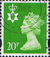 Northern Ireland 1993 Queen Elizabeth Machin SG NI 71 Scott NIMH 58 Fine Used Regional Postage Stamps