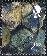 Northern Ireland 2001 Giant's Causeway SG NI 89 Scott 12 Fine Used Regional Postage Stamps