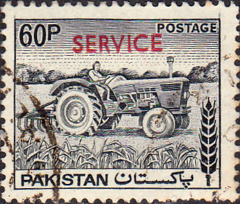 Pakistan 1979 Official SERVICE SG O119 Fine Used