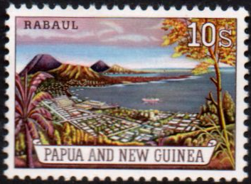 Commonwealth Stamps Papua New Guinea 1963 SG 42 Bird of Paradise Fine Mint Scott 155