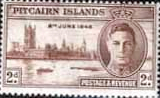 Pitcairn Islands 1946 King George VI Victory SG 9 Fine Mint