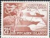 Pitcairn Islands 1949 Universal Postal Union SG 13 Fine Mint