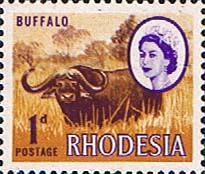 Stamps of Rhodesia 1966 Whitley Fine Mint SG 374 Scott 223