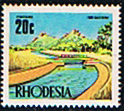 Rhodesia 1970 Irrigation SG 448 Fine Mint