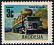Rhodesia 1970 Road Transport SG 441c Fine Mint