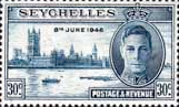 Seychelles 1946 King George VI Victory SG 151 Fine Mint