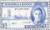 Sierra Leone 1946 Victory Issue SG 202 Fine Mint