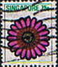 Singapore 1973 Flowers SG 220 Gerbera jamesonii Fine Used
