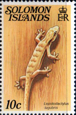 Solomon Islands 1979 Reptiles SG 393A Fine Mint